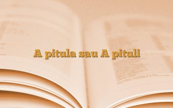 A pitula sau A pituli