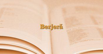 Berjeră