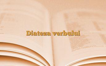 Diateza verbului