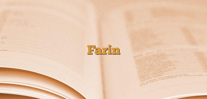 Farin