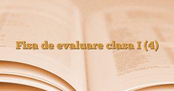 Fisa de evaluare clasa I (4)