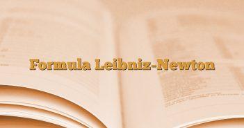 Formula Leibniz-Newton