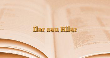 Ilar sau Hilar