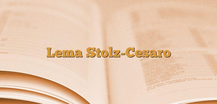 Lema Stolz-Cesaro