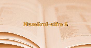 Numărul-cifra 6