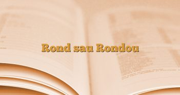Rond sau Rondou