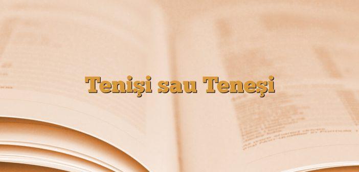 Tenişi sau Teneşi